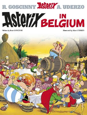 Asterix: Asterix in Belgium by Rene Goscinny