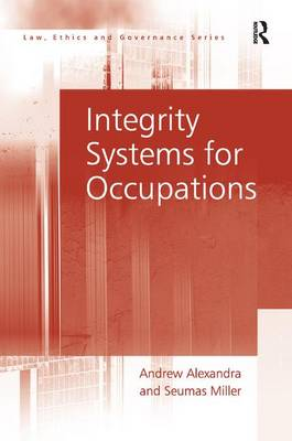 Integrity Systems for Occupations by Andrew Alexandra