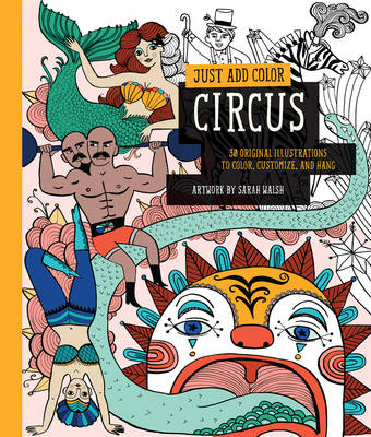 Just Add Color: Circus book