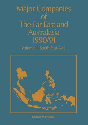 Major Companies of The Far East and Australasia 1990/91 by J. Carr