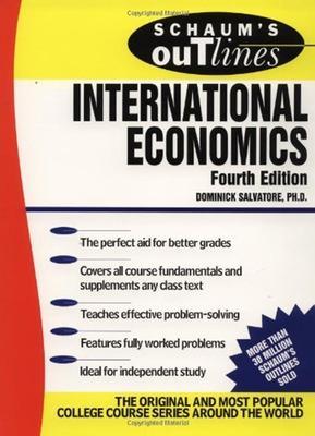 Schaum's Outline of International Economics by Dominick Salvatore