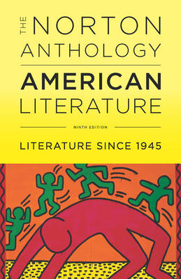 The Norton Anthology of American Literature by Professor Robert S Levine