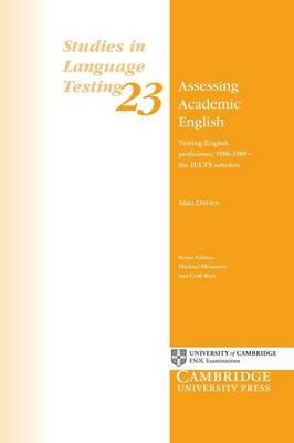 Assessing Academic English by Alan Davies