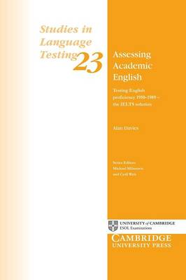 Assessing Academic English by Alan Davies