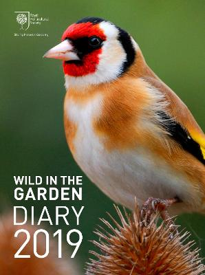 RHS Wild in the Garden Diary 2019 by Royal Horticultural Society