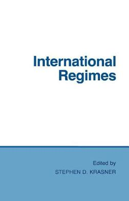 International Regimes by Stephen D. Krasner