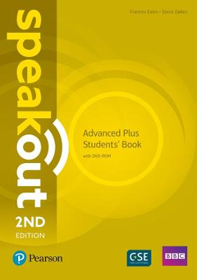 Speakout Advanced Plus 2nd Edition Students' Book and DVD-ROM Pack by Steve Oakes