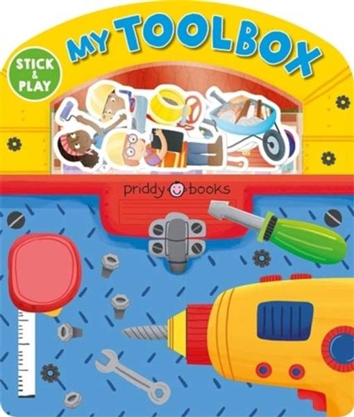 My Tool Box: Magic Sticker Play & Learn by Roger Priddy