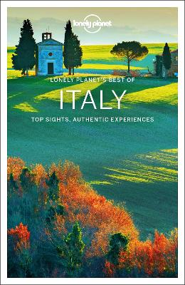 Lonely Planet Best of Italy book