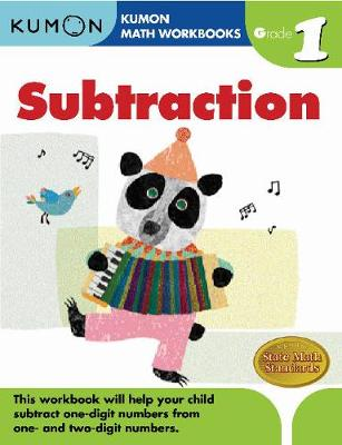 Grade 1 Subtraction by Kumon