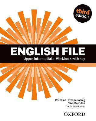 English File third edition: Upper-intermediate: Workbook with Key book
