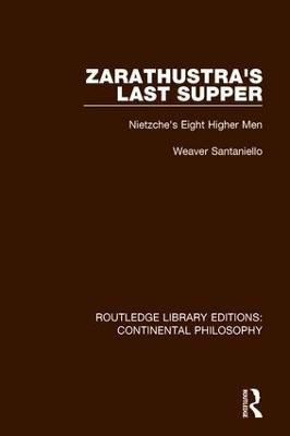 Zarathustra's Last Supper book