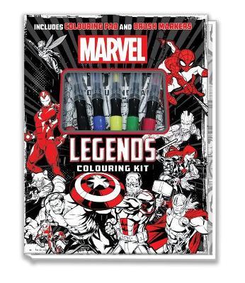 Marvel: Colouring Kit book
