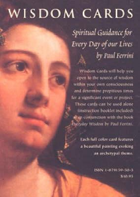 Wisdom Cards by Paul Ferrini
