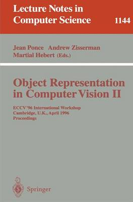 Object Representation in Computer Vision II by Jean Ponce