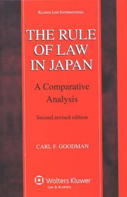 Rule of Law in Japan by Carl Goodman
