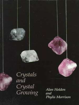 Crystals and Crystal Growing book