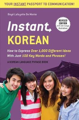 Instant Korean by Boye Lafayette De Mente