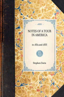 Notes of a Tour in America book