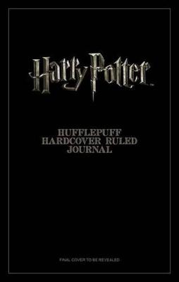 Harry Potter: Hufflepuff Ruled Pocket Jo by Insight Editions