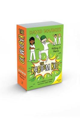 Hitting it Home: Kaboom Kid Books 5-8 book