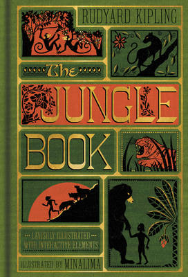 The Jungle Book (Illustrated with Interactive Elements) by Rudyard Kipling