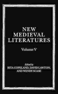 New Medieval Literatures by Rita Copeland