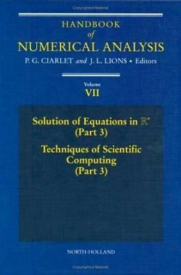 Handbook of Numerical Analysis by Philippe G. Ciarlet