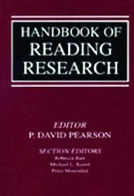 Handbook of Reading Research Volume 1 by P. David Pearson
