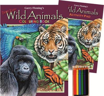 Garry Fleming's Wild Animals Activity Pack by Garry Fleming