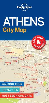 Lonely Planet Athens City Map by Lonely Planet