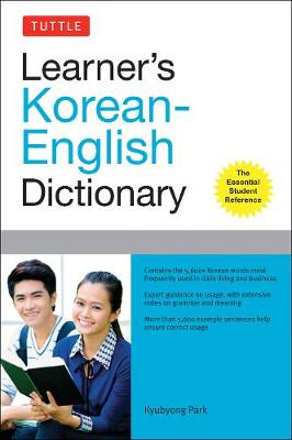 Tuttle Learner's Korean-English Dictionary by Kyubyong Park