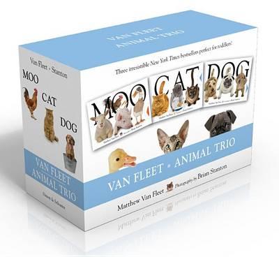 Van Fleet Animal Trio: Moo; Cat; Dog by Van Fleet