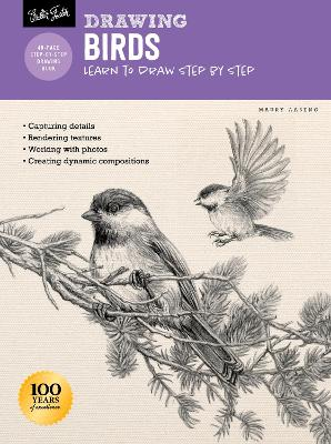 Drawing: Birds: Learn to draw step by step book