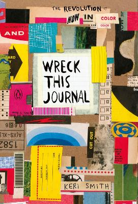 Wreck This Journal: Now in Colour book