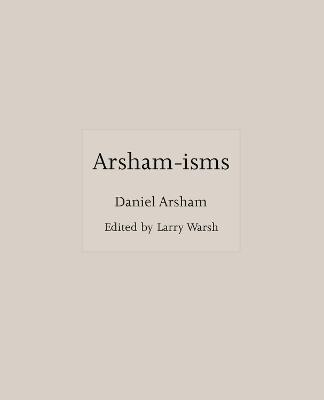 Arsham-isms book