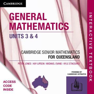 CSM QLD General Mathematics Units 3 and 4 Digital (Card) by Peter Jones