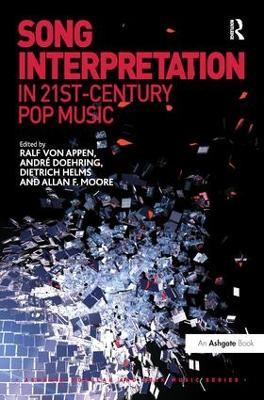 Song Interpretation in 21st-Century Pop Music book