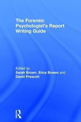 Forensic Psychologist's Report Writing Guide book