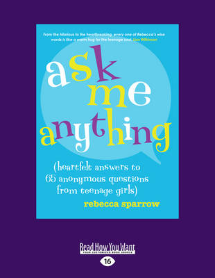 Ask Me Anything by Rebecca Sparrow