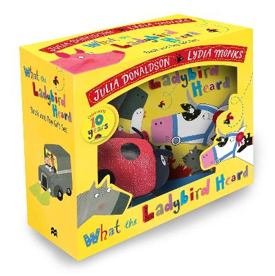 What the Ladybird Heard Book and Toy Gift Set by Julia Donaldson
