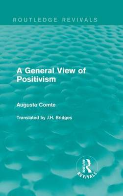 General View of Positivism book