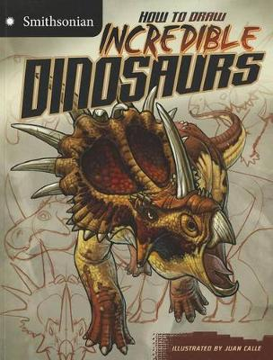 How to Draw Incredible Dinosaurs book