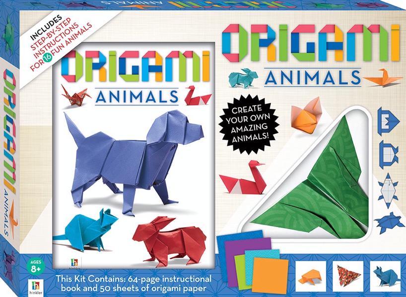 Origami Animals (2020 ed) by Matthew Gardiner