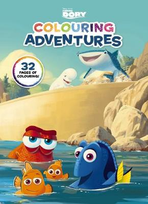 Disney: Finding Dory Colouring Adventures book