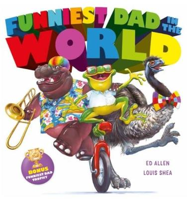 Funniest Dad in the World HB by Ed Allen