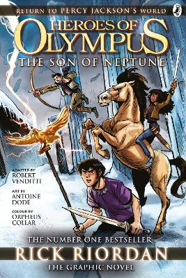 Son of Neptune: The Graphic Novel (Heroes of Olympus Book 2) book