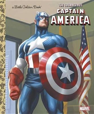 Courageous Captain America by Billy Wrecks