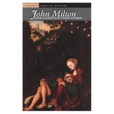 John Milton by Annabel Patterson