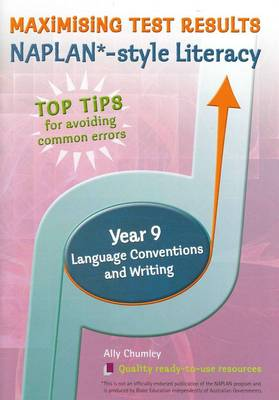 Year 9 Writing and Language Conventions by Ally Chumley